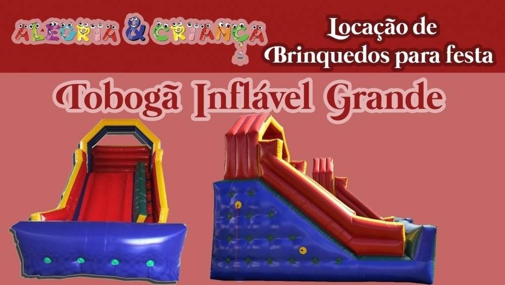 Alugar Tobogã Inflável para Festas Preço no Jardim Paulista - Locação de Tobogã Inflável para Festa Infantil