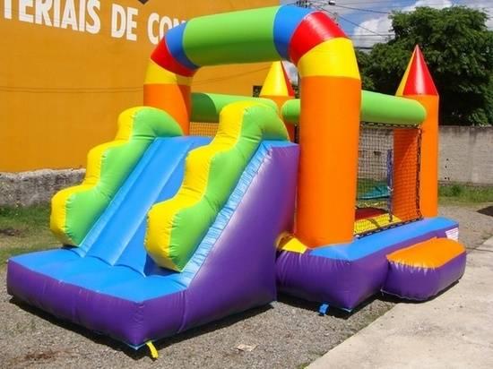 Aluguel de Tobogã Inflável para Festa Infantil Sp no Campo Belo - Aluguel de Tobogã Inflável