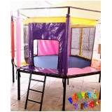 alugar cama elástica para festa em São Domingos