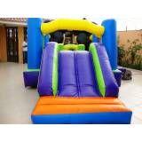 alugar tobogã inflável para festa infantil preço em Perdizes