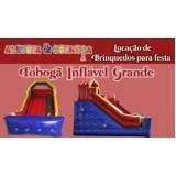 alugar tobogã inflável para festas preço em Pirituba
