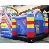 alugar tobogãs infláveis para eventos no Bairro do Limão