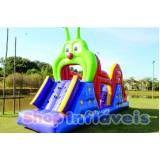 alugar tobogãs infláveis para festas no Bairro do Limão