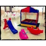 aluguel de brinquedos para festas infantis na Vila Andrade