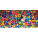 Aluguel de Piscina de Bolinhas para Festa Infantil