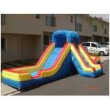 aluguel de tobogã inflável para festas sp em Alphaville
