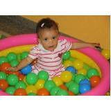 locação de piscina de bolinhas para festa infantil em Sumaré