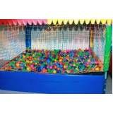 locação de piscina de bolinhas para festas preço em Jundiaí