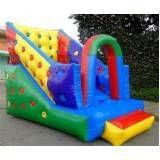 locação de tobogã inflável para festa infantil sp em Itapevi