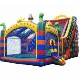 locação de tobogã inflável para festa infantil em Jundiaí