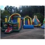 locação de tobogã inflável para festas sp no Campo Belo